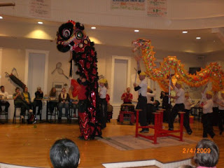 students sharing traditional chinese new year activities at isaac's