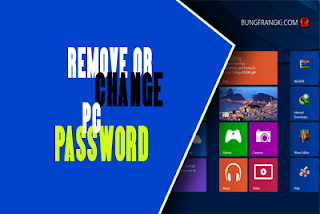 Change and remove pasword