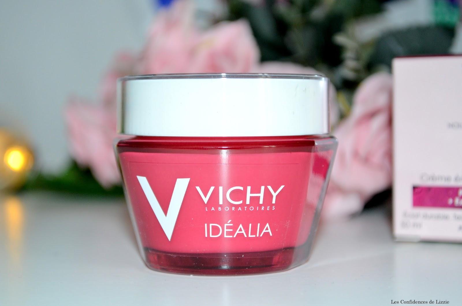 Vichy - cosmétique français - peeling doux - soin - soin cosmétique - peau lissée - peau redynamisée - crème de jour - crème de jour hydratante - soin hydratant
