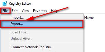 Hướng dân sao lưu Registy hệ điều hành Windows