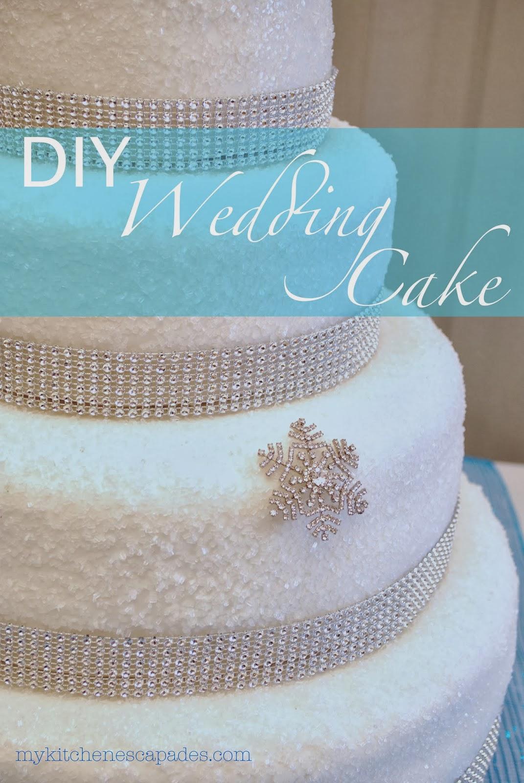 diy wedding cake. Black Bedroom Furniture Sets. Home Design Ideas