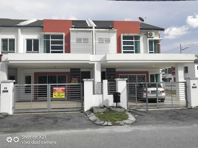 Rumah Teres 2 Tingkat di Bandar Universiti, Seri Iskandar Perak