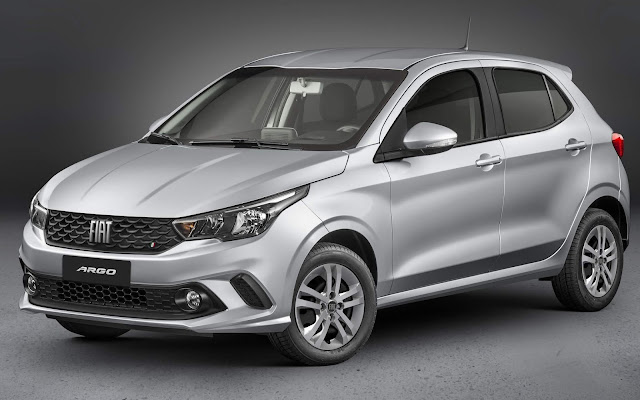 Novo Fiat Argo 2021 Drive