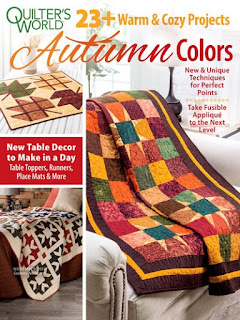 Quilter's World 23 plus autumn quilt patterns