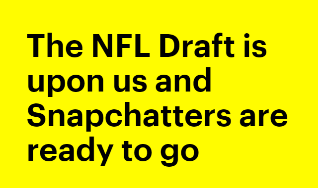 How excited are Snapchat users about the return of the NFL? #infographic