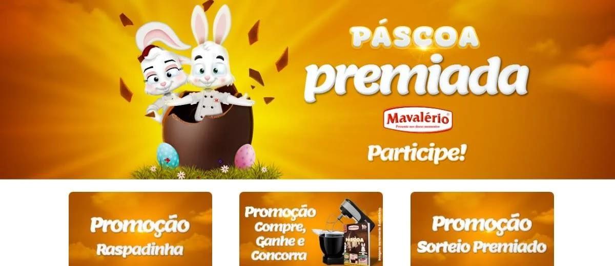 Promoção Mavalério Páscoa 2020 Premiada - Raspadinha, Compre e Ganhe e Sorteio