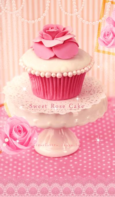 Sweet Rose Cake