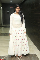 Megha Akash in beautiful White Anarkali Dress at Pre release function of Movie LIE ~ Celebrities Galleries 041.JPG