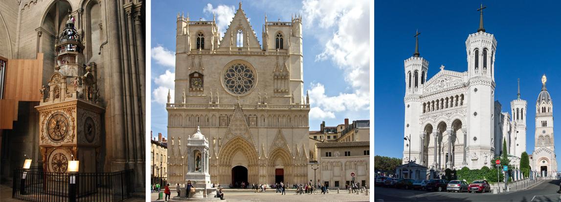 Cathédrale Saint-Jean & basilique de Fourvière - visite guidée Lyon