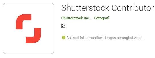 Menjual foto di shutterstock