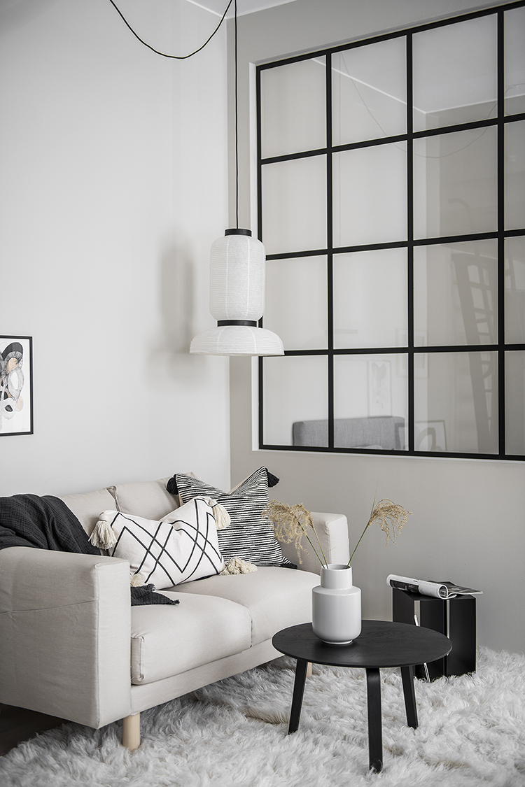 Scandinavian studio apartment design by Refine Design Studio