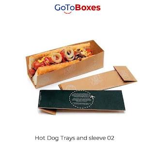 Paper Hot Dog Trays