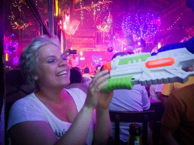 In club: Cartagena, Columbia