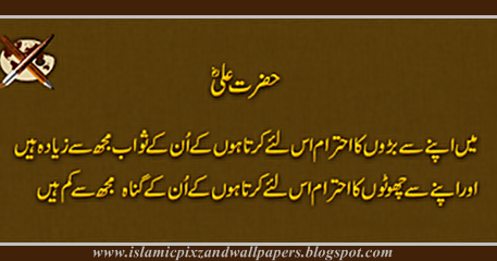 Islamic Pictures and Wallpapers: Aqwal e zareen Hazrat Ali