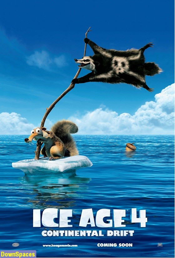 Ice Age 4 Continental Drift DVDRip 650MB - DownSpaces