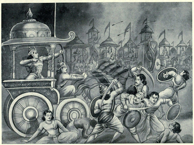 Who were the 12 warriors alive after Kurukshetra war