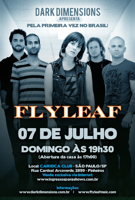 Flyleaf em São Paulo