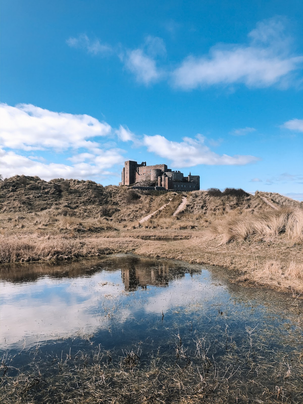 My March Days - Bamburgh Castle