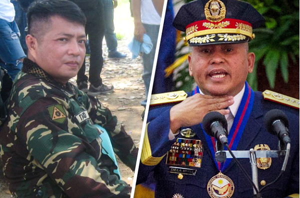 Road rage suspect receives 'villain's welcome' from 'Bato'