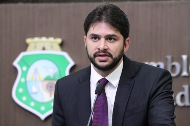 Guilherme Landim quer mobilização contra fechamento de oncologia pediátrica no Cariri
