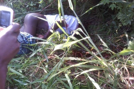 Shocking! Ritualist Murder Man and Cut Off His Private Parts (Graphic Photos)