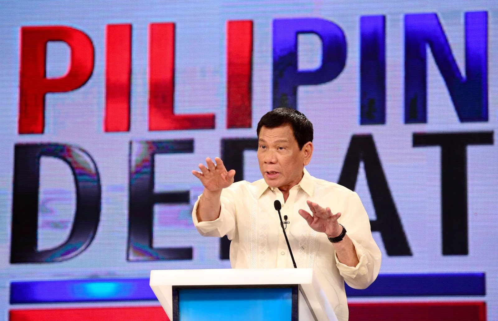 Duterte not backing out of Presidential debate at UP Cebu
