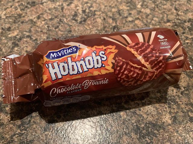 McVities HobNobs - Chocolate Brownie Edition