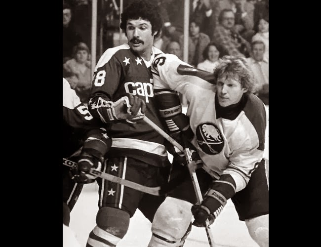 Vs. Buffalo: Gord Lane and Jim Schoenfeld; Lane scored                                                       with 7:21 left to forge a 3-3 tie (3/18/79)