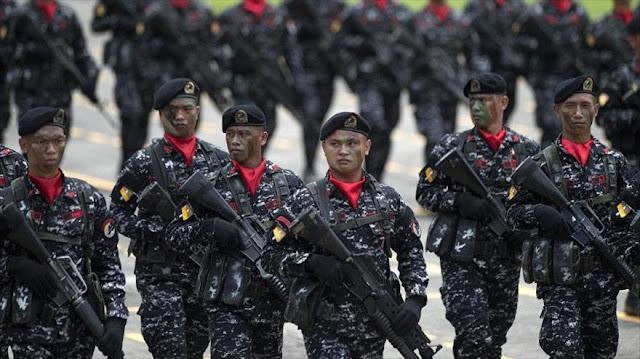 Filipinas recurre a China y Rusia en busca de armas, no a EEUU