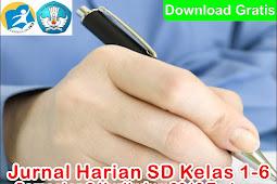 Jurnal Harian SD Kelas 1-6 Semester 2 kurikulum 2013 Terbaru