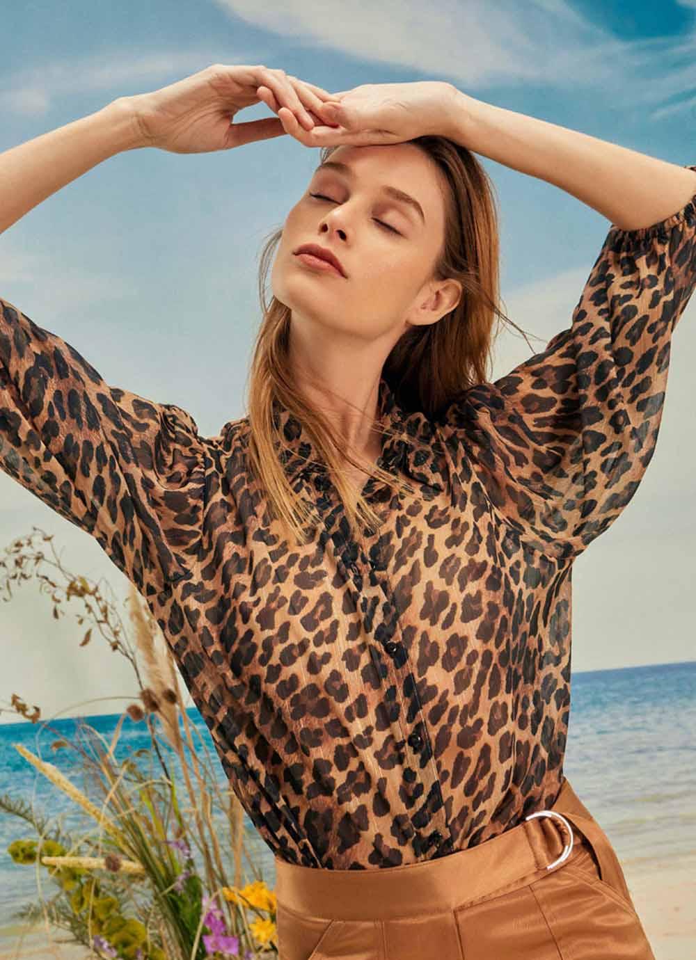 blusas animal print moda mujer 2021