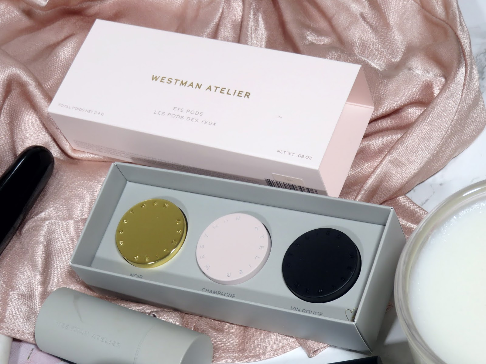 Westman Atelier Eye Pods in Les Nuits Review and Swatches