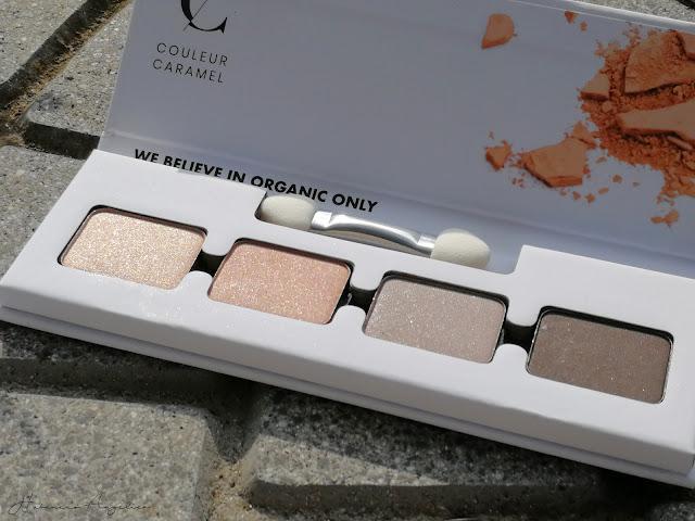 smokey palette couleur caramel nuova collezione