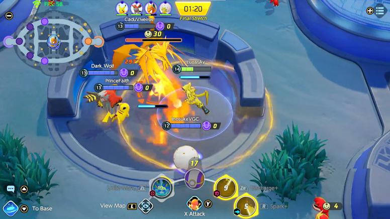 Pokémon Unite - Batalhas Lendárias