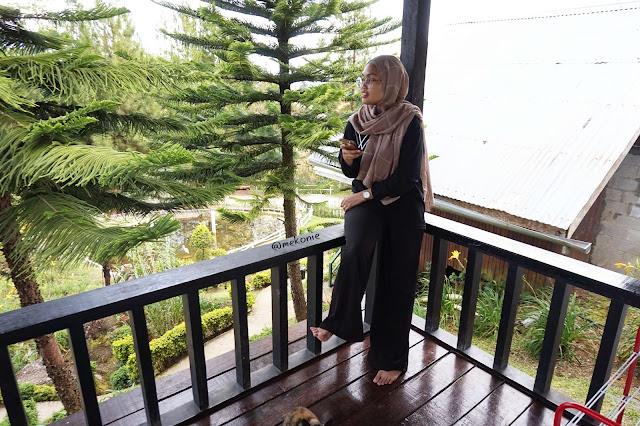 PENGINAPAN DI SABAH : KIRAM'S VILLAGE,KUNDASANG SABAH