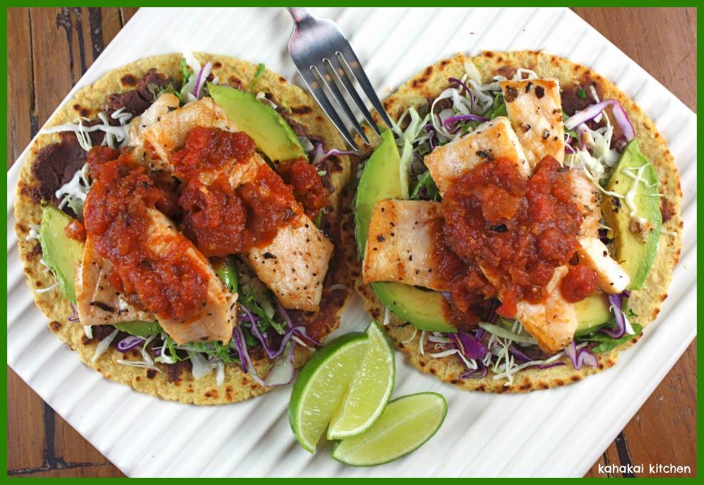 Kahakai Kitchen Tangy Grilled Opah Fish Tostadas Healthy And