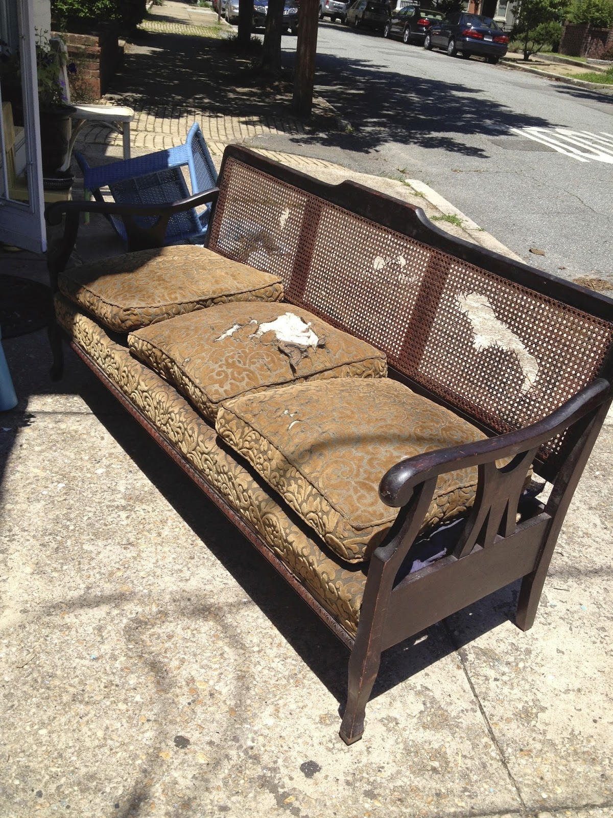 1930 cane back sofa york sofas sale antique furniture foter thesofa