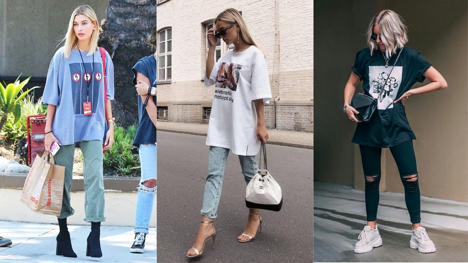 Como usar camisetas no estilo streetwear