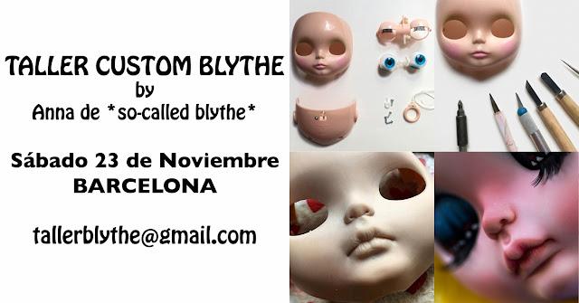 taller custom blythe en Barcelona