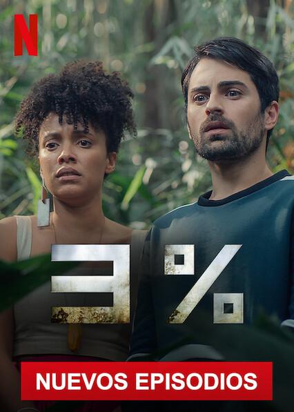 3% (2016 – 2020) Temporadas Completas NF WEB-DL 1080p Latino