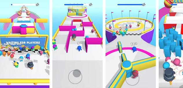 لعبة Run Royale 3D تخطي العقبات