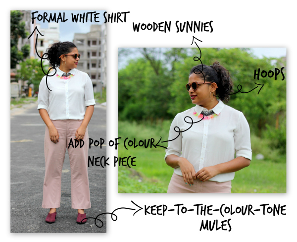 Monday Outfit - Work Outfit - How To Style One Pant in 4 Ways - Live Laugh Dressup