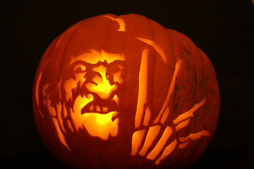 Ghost Hunting Theories Horror Movie Themed Jack O Lanterns