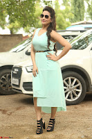 Manjusha in beautiful thin green gown At Jaya Janaki Nayaka le Logo Launch ~  Exclusive 124.JPG