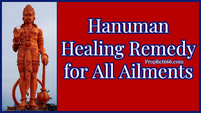 Hanuman Healing Remedy for Good Health