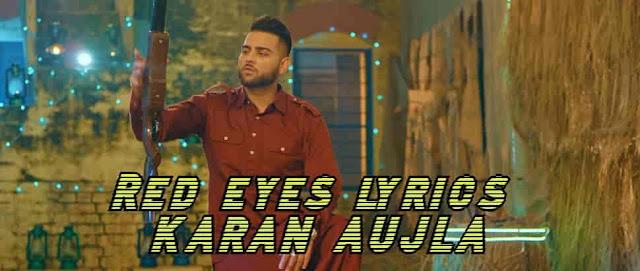 Red Eye (Akh Laal) Lyrics in Hindi and English - Laji Surapuria, JS Randhawa