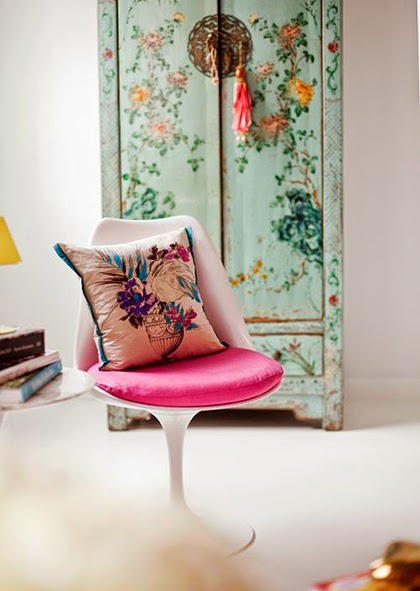 Interior trend 2015 - Pastel with neon