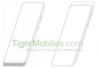 Berita android. Tips android  ZTE mematenkan smartphone dengan kamera selfie ganda dan desain slider