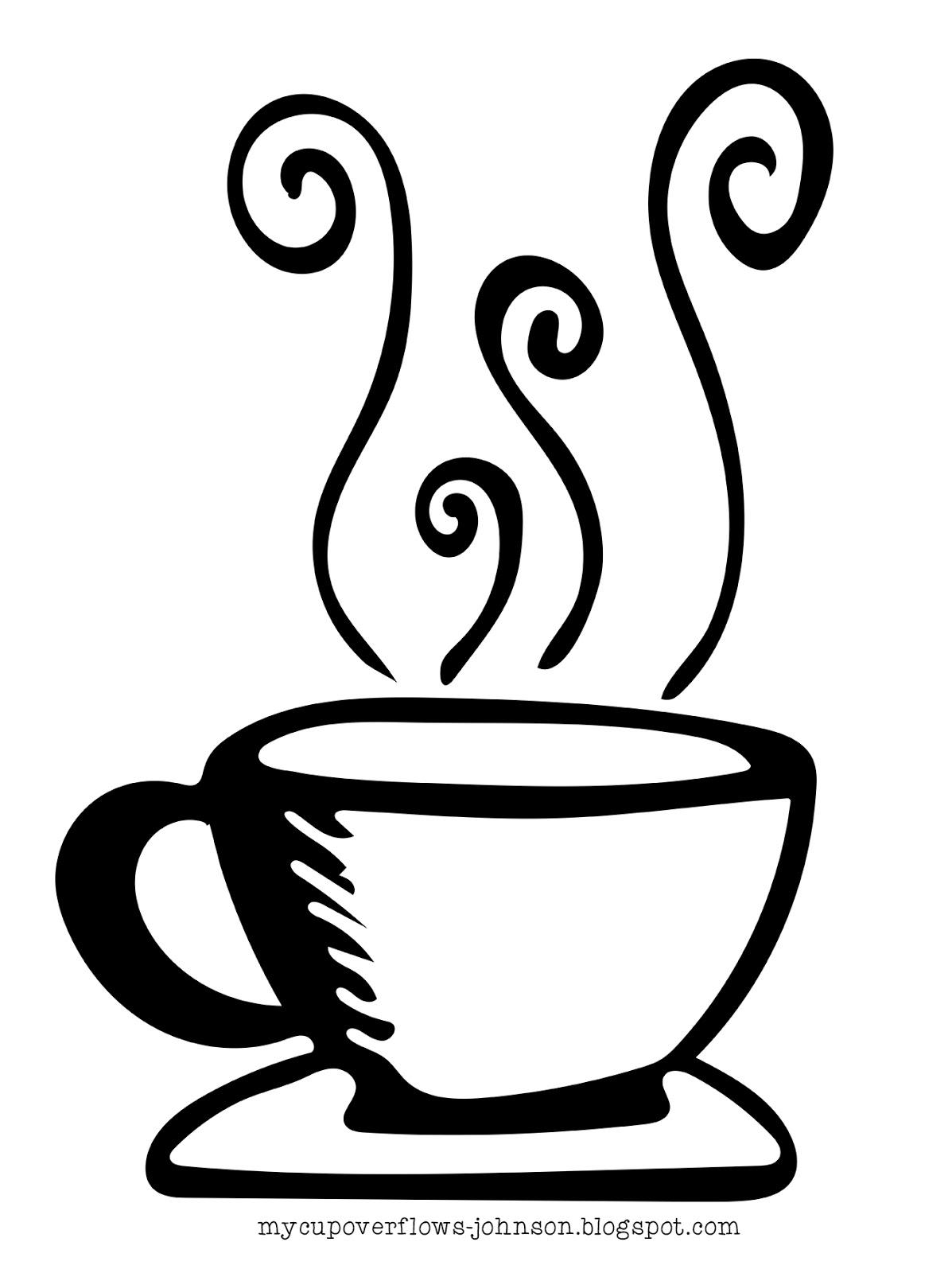 My Cup Overflows Tea And Coffee