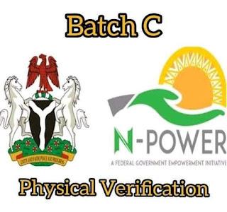 N-power Bacth C Stream Yau 10/09/2021 Za'a Fara Tantance Lafiya A Kananan Hukumoni 774 Duba Muhimman Abubuwa da Kowa Zai gabatar Idan Yaje Wajen